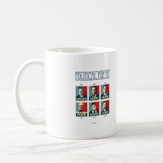Political Poetry Poster - Grope Dope Hope Pope Nop Coffee Mug