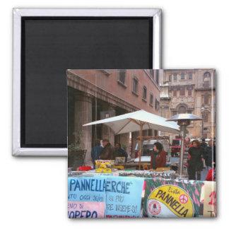 Political propaganda, Rome, 2 Inch Square Magnet