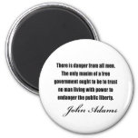 Political quotes by John Adams Fridge Magnet