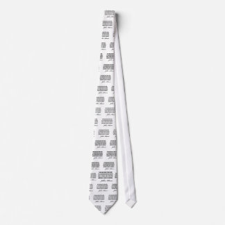Political quotes by John Adams Tie