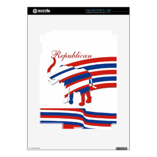 Political Republican iPad 2 Decal