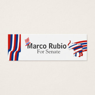 Political Republican  US Mini Business Card