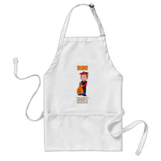 Political Satire Halloween Trick or Treat Adult Apron