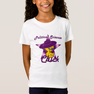 Political Science Chick #9 T-Shirt
