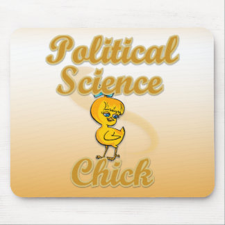 Political Science Chick Mousepad