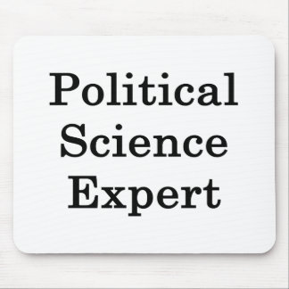Political Science Expert Mouse Pads