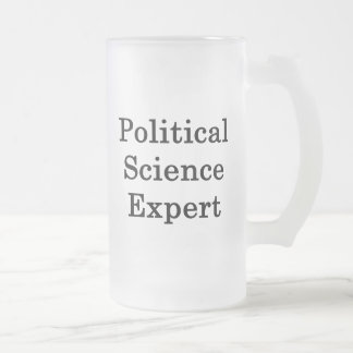 Political Science Expert Mugs