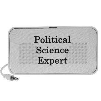 Political Science Expert Laptop Speaker