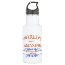 Political Science Teacher Stainless Steel Water Bottle