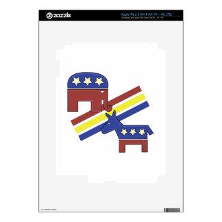 Political Symbols Decal For iPad 3