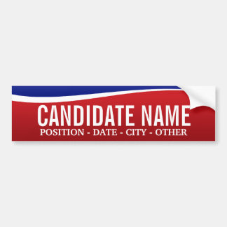 Political Theme - Customize This Bumper Sticker