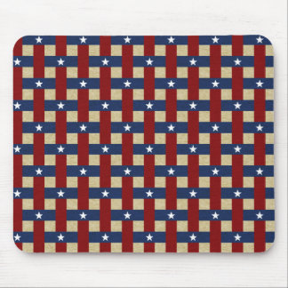 Political Weave Mouse Pad
