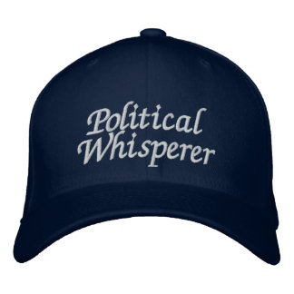 Political Whisperer Embroidered Baseball Cap