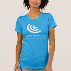 Political Will for a Livable World Ladies Blue T-Shirt