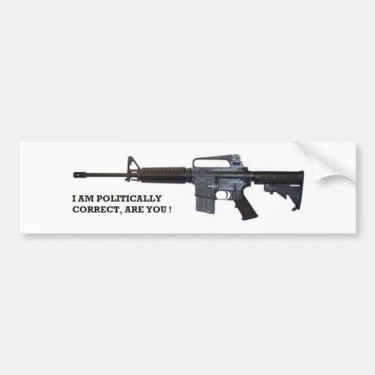 politically correct bumper sticker