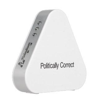 Politically Correct Speaker