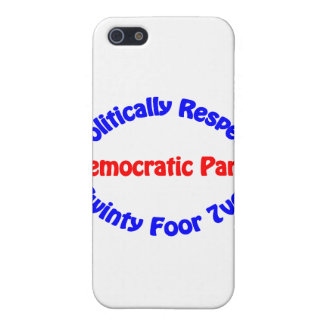 Politically Respect - Democratic Party Case For iPhone SE/5/5s