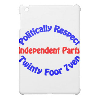 Politically Respect - Independent Party Case For The iPad Mini