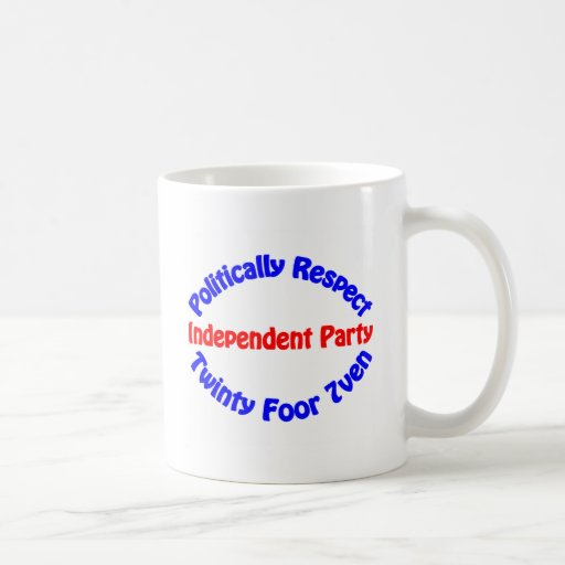Politically Respect - Independent Party Coffee Mug