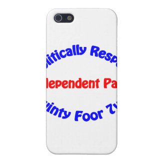 Politically Respect - Independent Party Cover For iPhone SE/5/5s