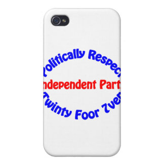 Politically Respect - Independent Party iPhone 4/4S Cases