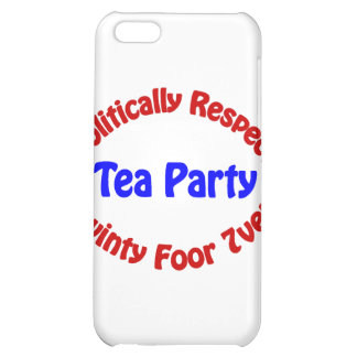 Politically Respect - Tea Party iPhone 5C Covers