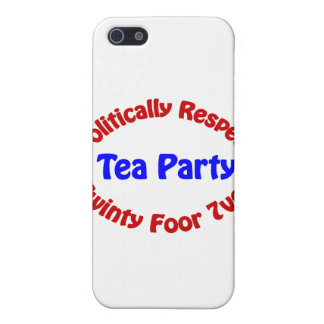 Politically Respect - Tea Party Covers For iPhone 5