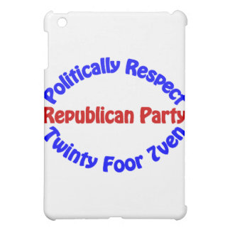 Politically Respect - Twinty Foor 7ven iPad Mini Cover