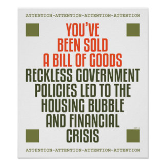 Políticas imprudentes del gobierno impresiones