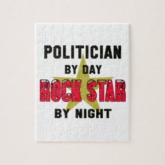 Politician by Day rockstar by night Jigsaw Puzzle