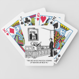 Politician Cartoon 3312 Bicycle Playing Cards