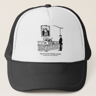 Politician Cartoon 3312 Trucker Hat