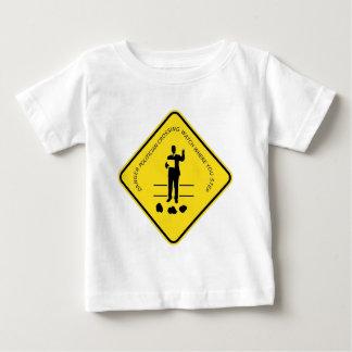 Politician crossing copy.GIF Baby T-Shirt