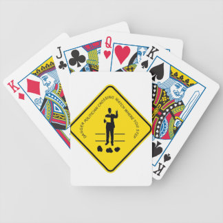 Politician crossing copy.GIF Bicycle Playing Cards