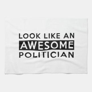 POLITICIAN DESIGNS TOWELS