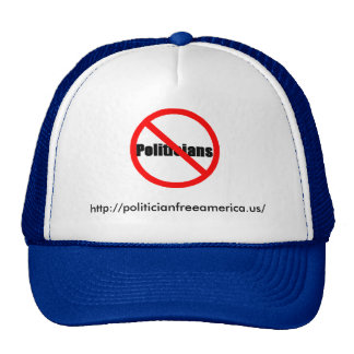Politician Free America, the Hat