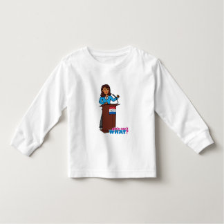 Politician Girl Toddler T-shirt