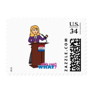 Politician - Light/Blonde Stamp