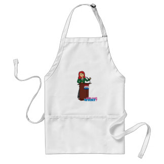 Politician - Light/Red Adult Apron