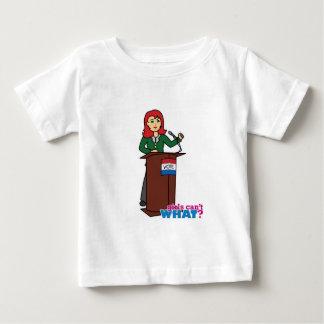Politician - Light/Red Baby T-Shirt