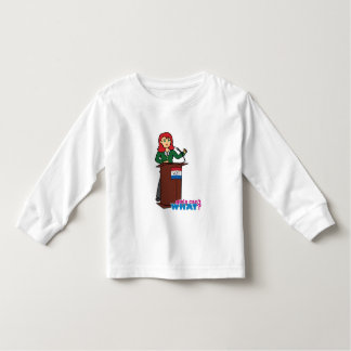 Politician - Light/Red Toddler T-shirt