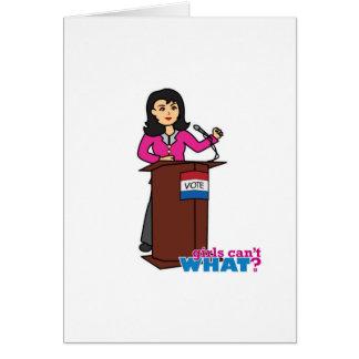 Politician - Medium Card