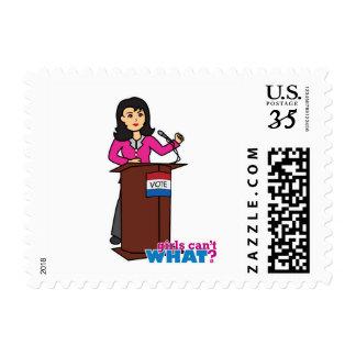 Politician - Medium Postage Stamps