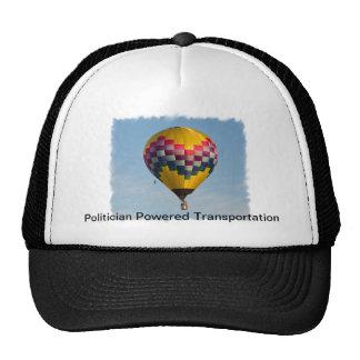 POLITICIAN POWERED TRANSPORTATION TRUCKER HAT