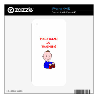 POLITICIAN SKIN FOR iPhone 4S