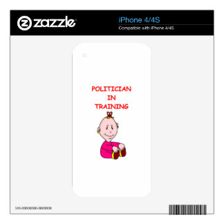 POLITICIAN SKIN FOR THE iPhone 4