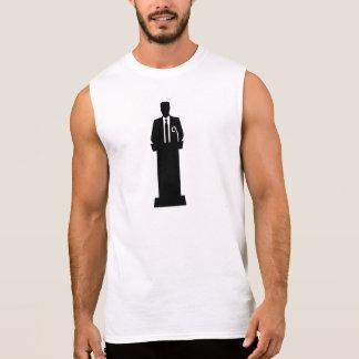 Politician speaker sleeveless shirts