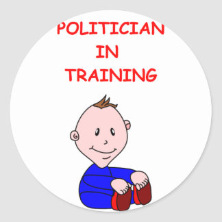 POLITICIAN STICKER