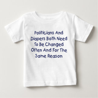 Politicians And Diapers Infant T-shirt