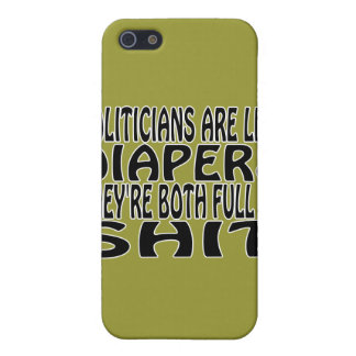 Politicians Are Like Diapers iPhone SE/5/5s Case